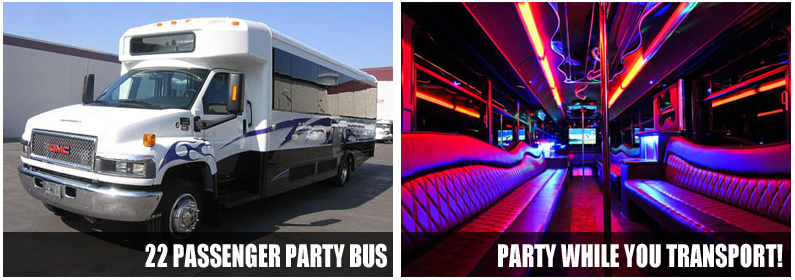 Party bus rentals wichita