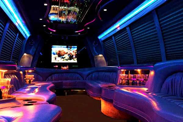 18 passenger party bus rental wichita