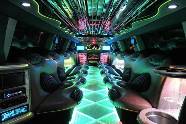 Hummer limo interior wichita